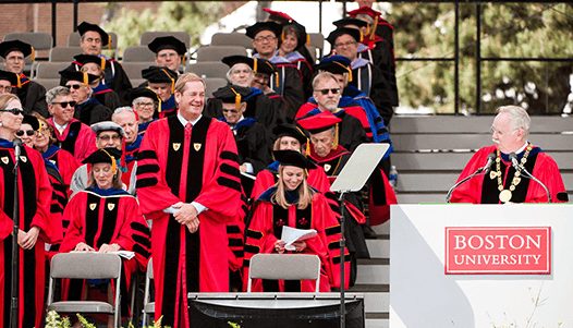BU livestreaming commencement case study