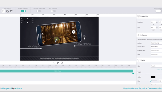 Interactive videos for marketing and customer education